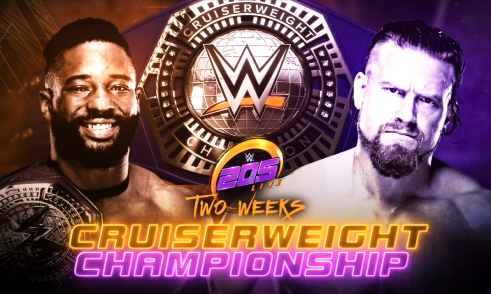 Who will be Cruiserweight Champion in Queen City?