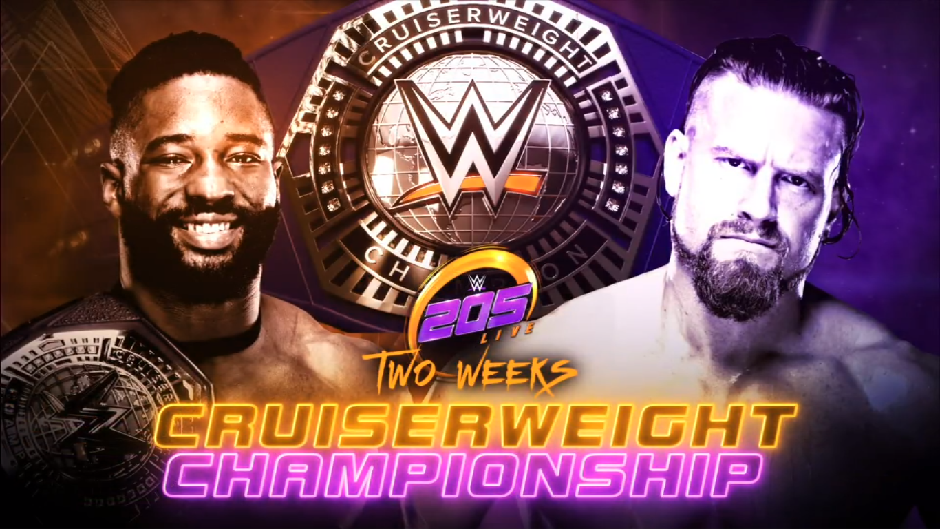 Who will be Cruiserweight Champion in Carolina?