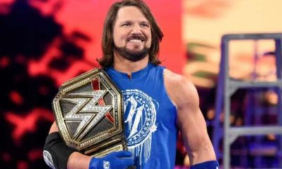 AJ Styles WWE Superstar Shake-Up
