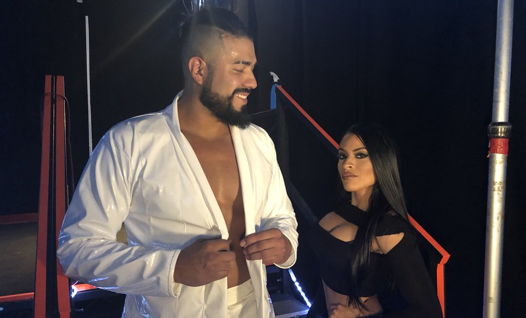 Andrade Cien Almas Zelina Vega WWE Superstar Shake-Up