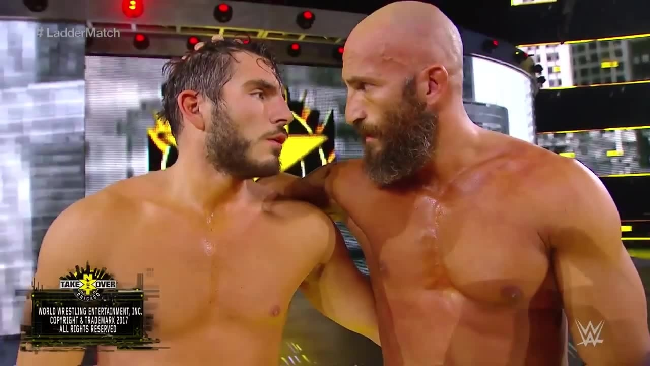 Johnny Gargano Tommaso Ciampa WWE Raw