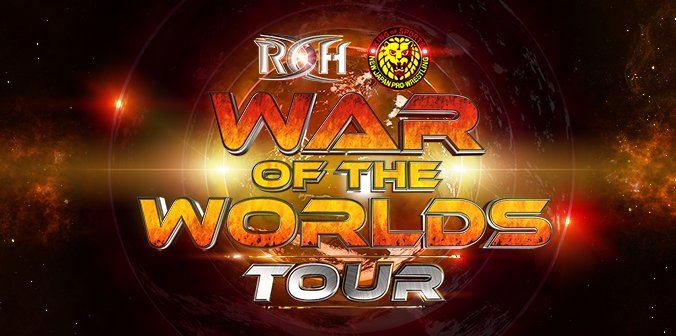 ROH War Of Worlds ROH War Of Worlds New Japan