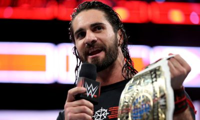 Seth Rollins WWE Intercontinental Champion