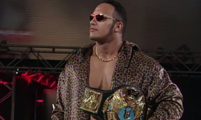 The Rock WWF Champion Heel