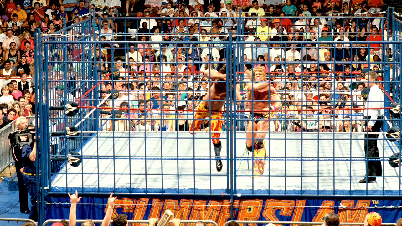 Ultimate Warrior Rick Rude WWF WWE SummerSlam 1990