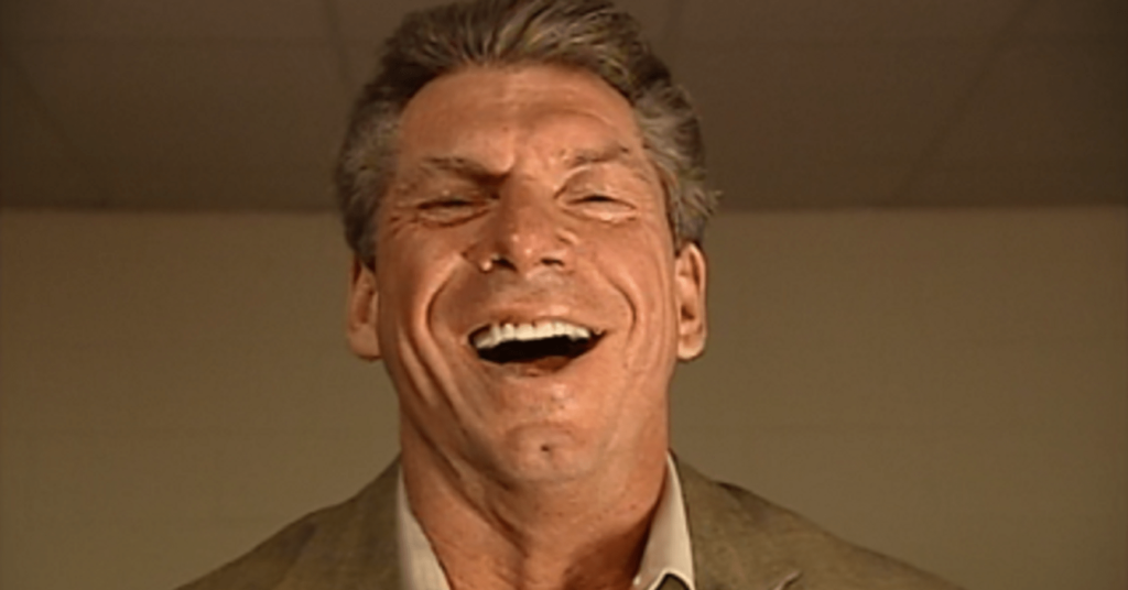 Vince McMahon Laughing