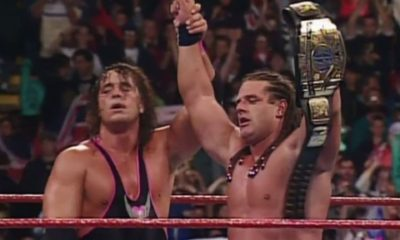 WWF SummerSlam 1992 Bret Hart Davey Boy Smith British Bulldog
