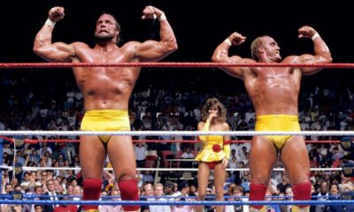 WWF WWE SummerSlam 1988 Hogan Savage Elizabeth