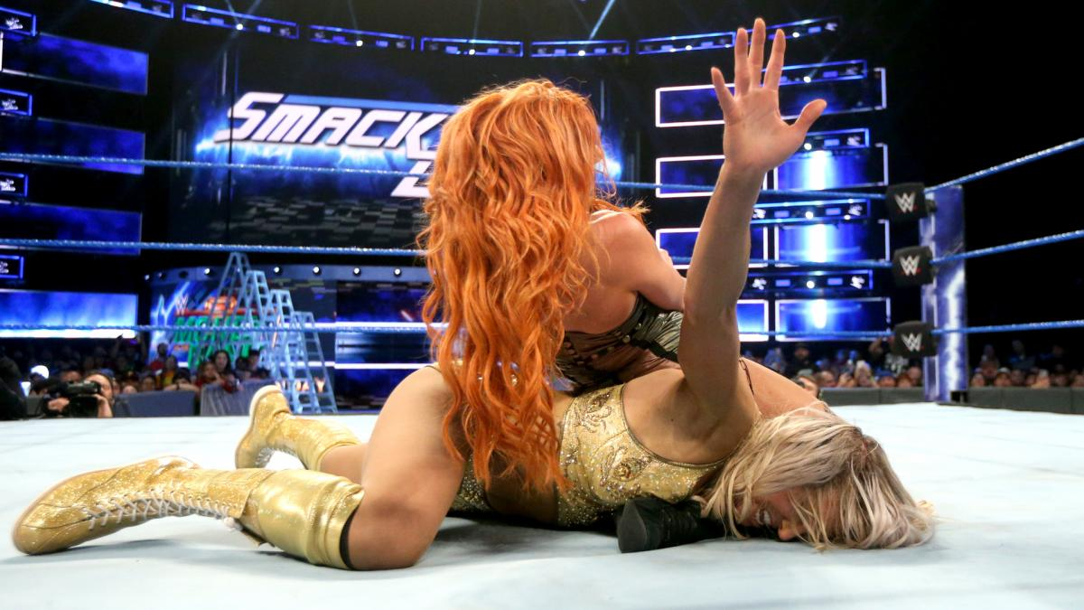 Becky Lynch Charlotte Flair Money In The Bank