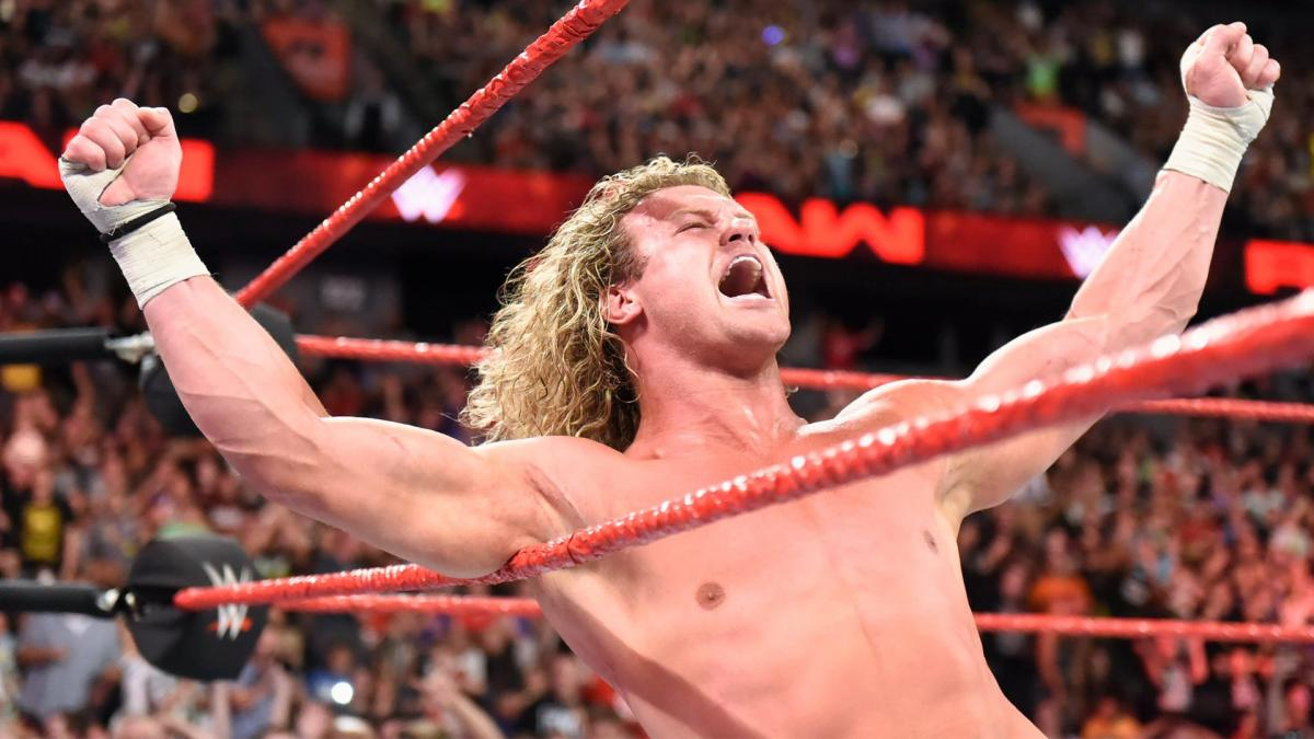 Dolph Ziggler Three Stars WWE Raw