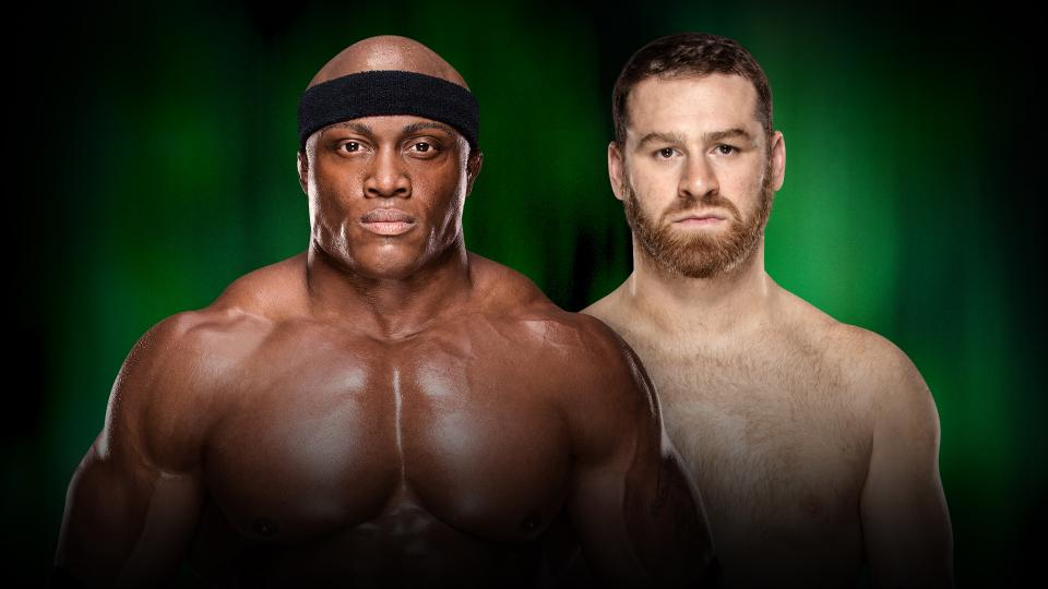 WWE MITB Lashley vs. Zayn