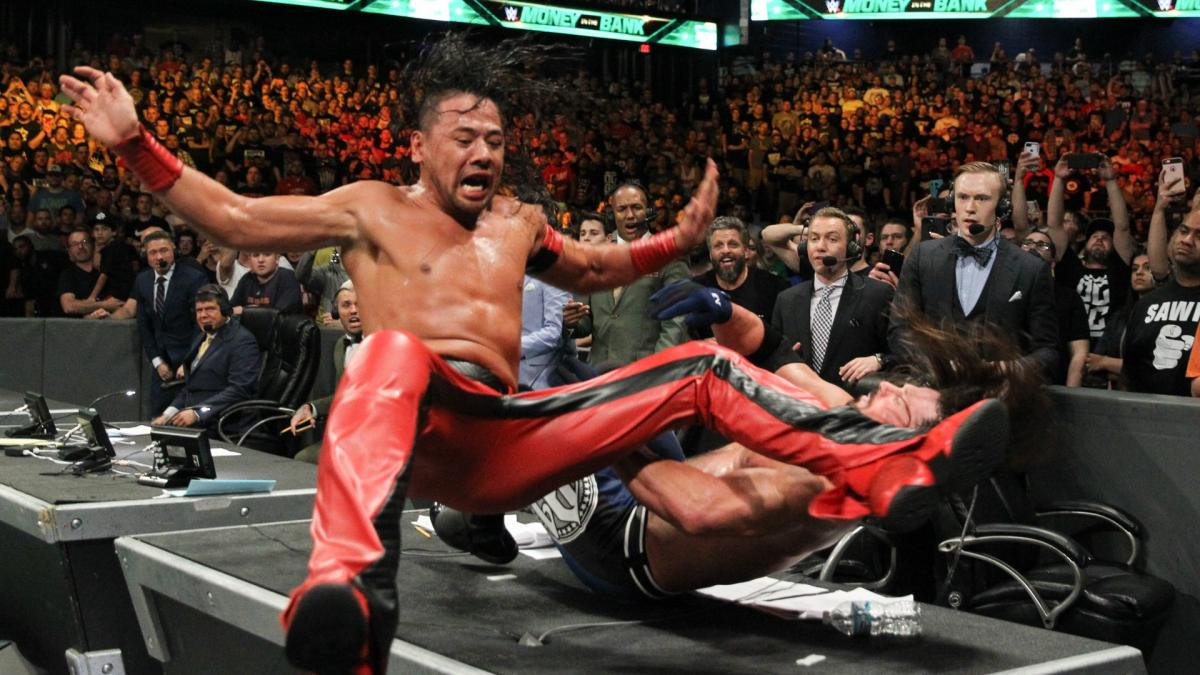 Money In The Bank Shinsuke Nakamura AJ Styles