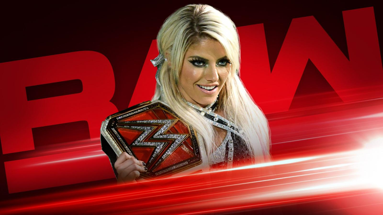 Praise and glory to the NEW Raw Women's Champion