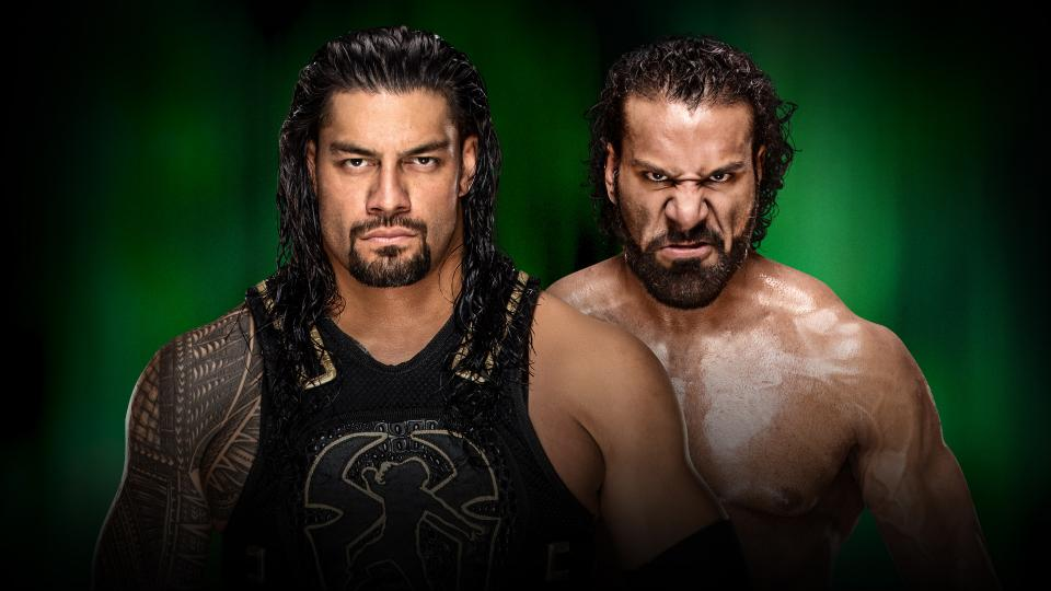 WWE MITB Reigns vs. Mahal
