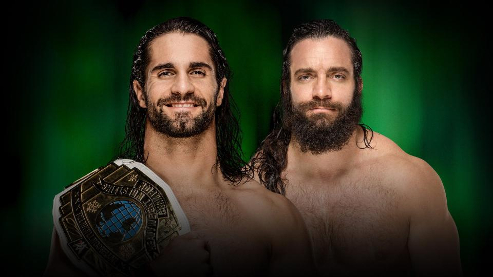 WWE MITB Rollins vs. Elias