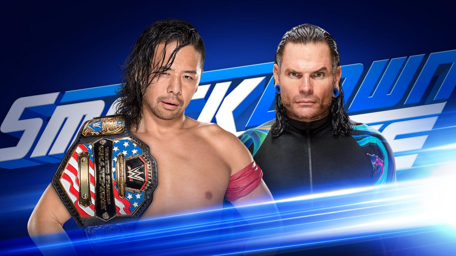 Will Hardy reclaim his title on SmackDown tonight?