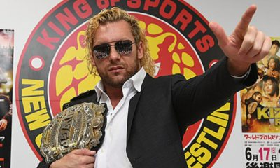 wwe njpw kenny omega iwgp championship interview