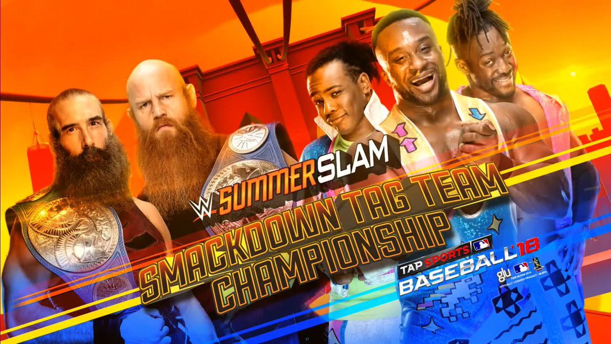WWE SummerSlam New Day vs Bludgeon