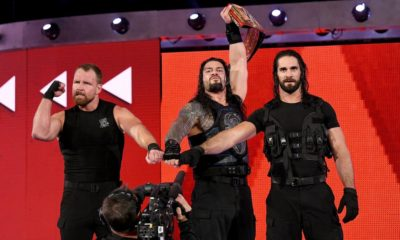 WWE The Shield 2018 Raw