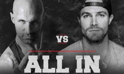 Christopher Daniels Stephen Amell ALL IN