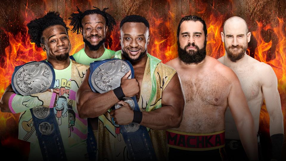 Hell In A Cell Results New Day Rusev Day
