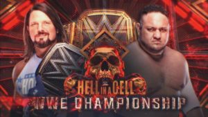 Hell In A Cell Results AJ Styles Samoa Joe