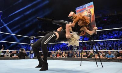 Charlotte Flair Becky Lynch WWE Smackdown