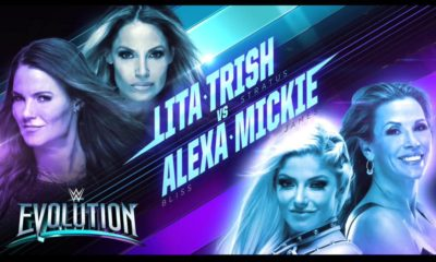 WWE Evolution Alexa Mickie Lita Trish