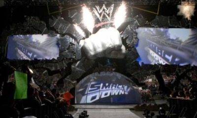 Smackdown Fist Stage WWE