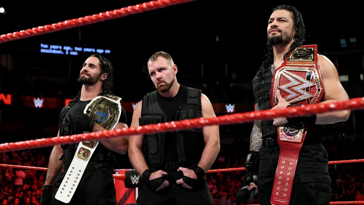 The Shield WWE WrestleMania 35