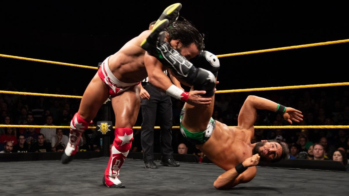 Tony Nese Johnny Gargano WWE NXT