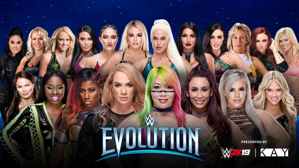 WWE Evolution Battle Royal Asuka Camella
