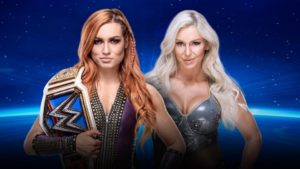 WWE Evolution Becky Lynch Charlotte Flair Smackdown Womens's Championship Last Woman Standing