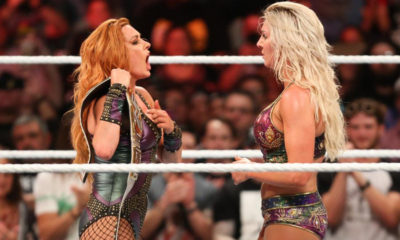 Becky Lynch Charlotte Flair WWE Women