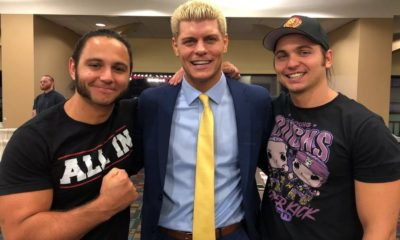 Cody Rhodes The Young Bucks ROH Ring Of Honor