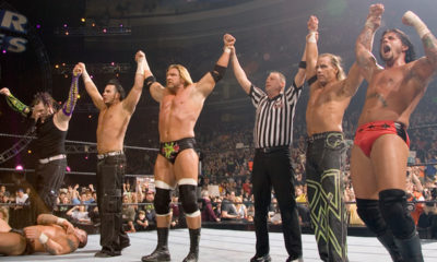 Jeff Hardy Matt Hardy Triple H Shawn Michaels CM Punk Survivor Series