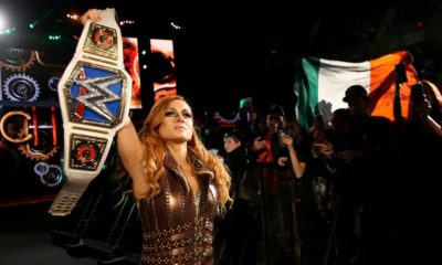 WWE Evolution Becky Lynch Championship