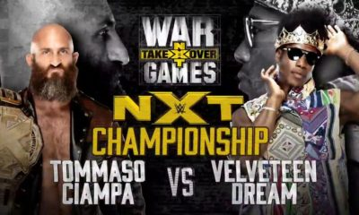 WWE NXT Takeover War Games Tommaso Ciampa Velveteen Dream NXT
