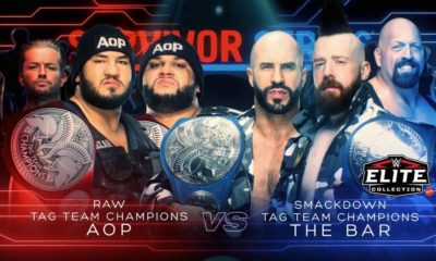 WWE Survivor Series 2018 AOP vs The Bar