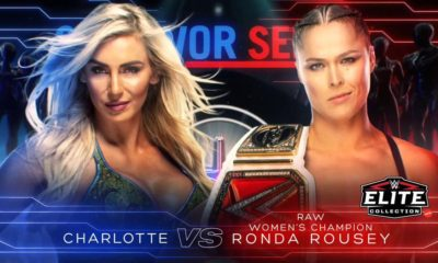 WWE Survivor Series 2018 Charlotte Flair Ronda Rousey