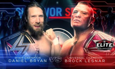 WWE Survivor Series 2018 Daniel Bryan vs Brock Lesnar