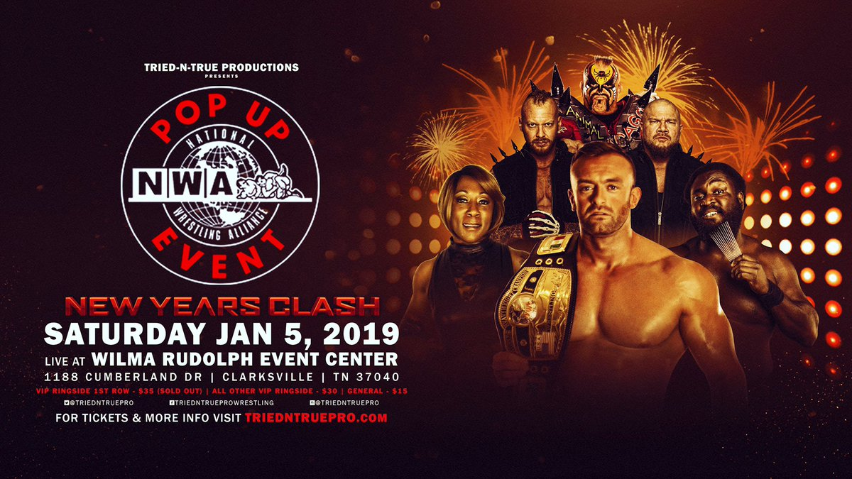 NWA New Years Clash