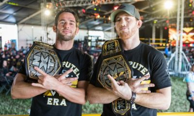 Roderick Strong Kyle O'Reilly Undisputed Era NXT Tag Team Champions