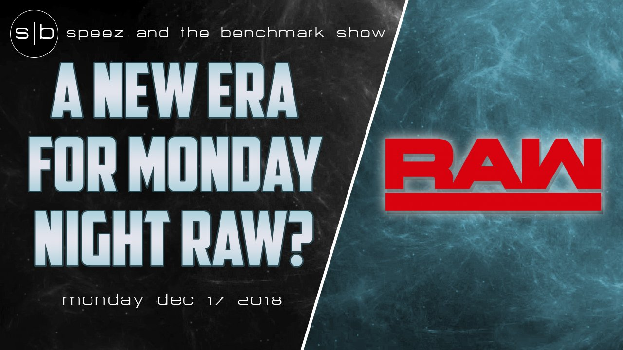 Speez Benchmark WWE Monday Night Raw