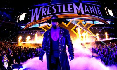 The Undertaker The Streak WrestleMania Cover