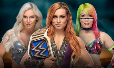 WWE TLC Asuka Becky Lynch Charlotte Flair