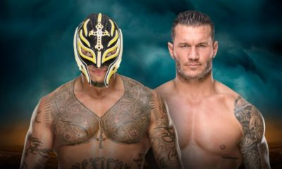 WWE TLC Randy Orton Rey Mysterio Chairs Match