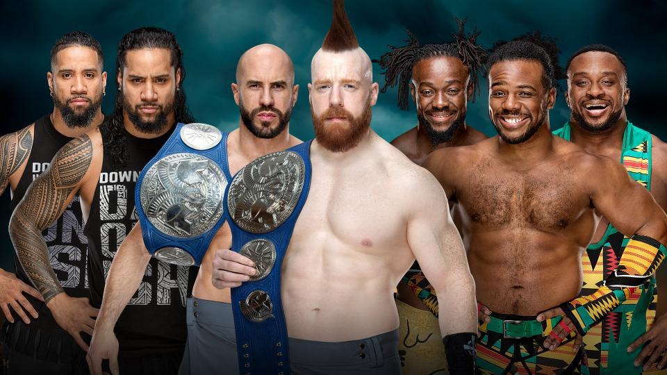 WWE TLC The Bar The Usos New Day