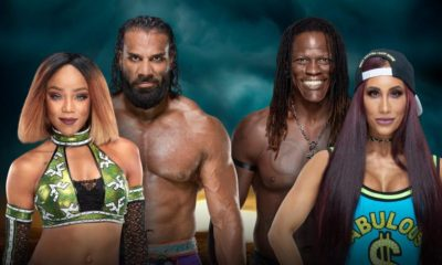 WWE TLC WWE MMC Alicia Fox Jidner Mahal Carmella R Truth