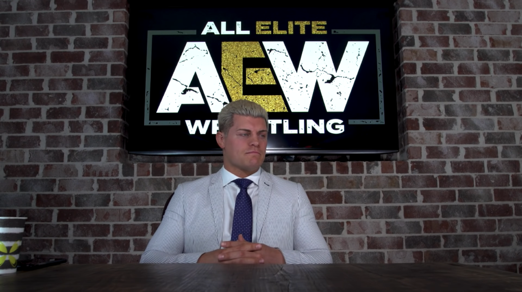 All Elite Wrestling Cody Rhodes